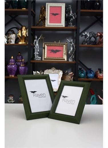 Raven Home Studio Rhs Country Resim Çerçevesi 2 Li Çerçeve&Albüm Yeşil One Sıze Renkli